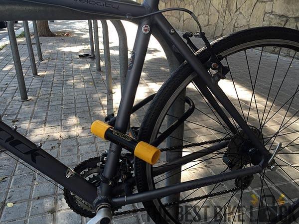 How To Lock Your Bike Properly The Best Bike Lock