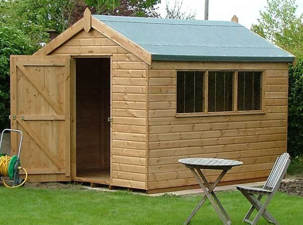 A shed!