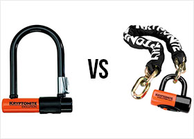 U-locks vs chain locks