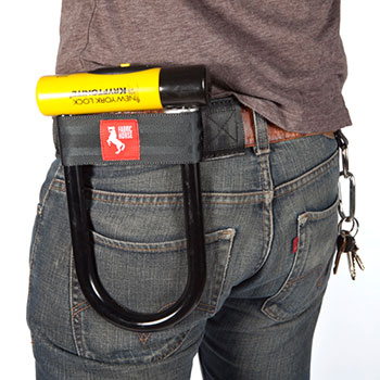 Fabric Horse Fahgettaboudit U-lock holster