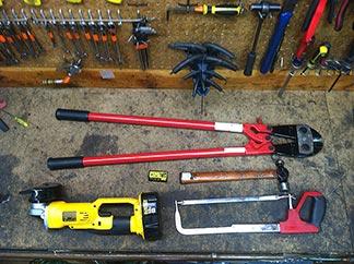 Lock testing tools