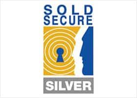 Sold Secure Silver bike locks