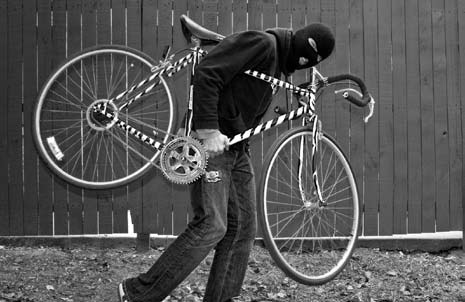 A bike thief