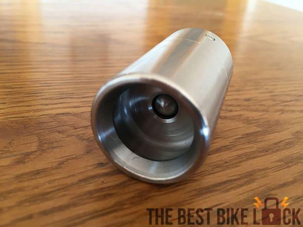 Locking cylinder in unlocked state