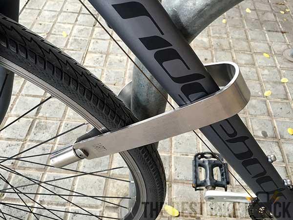 TiGr mini round front wheel