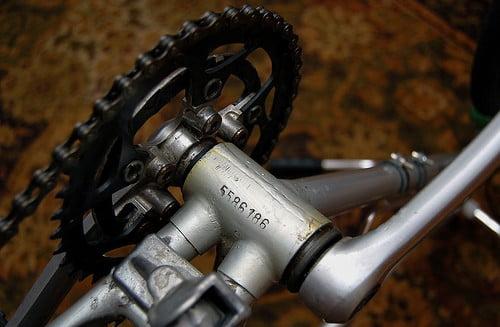 Bike serial number on bottom bracket