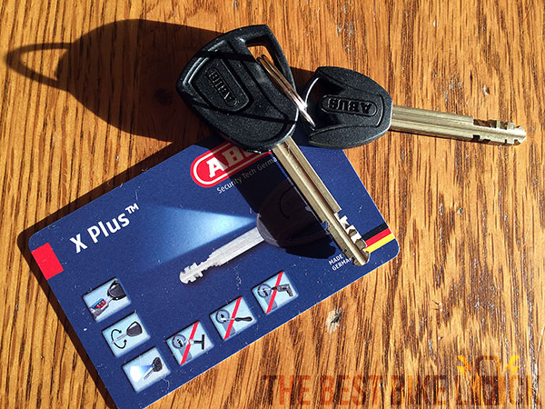 Abus Granit X-Plus 540 keys