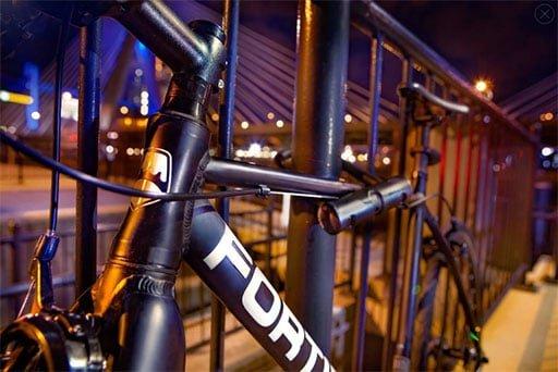 Fortified Bike and U-Lock