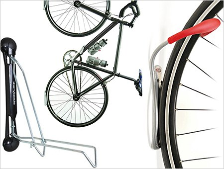 Bike Wall Mount Clip Rack Hanger Bike Storage Vertical Horizontal Stand