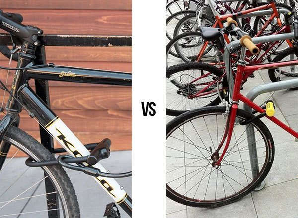 Bigger vs smaller bikes