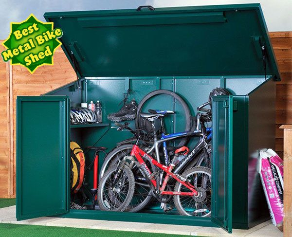 Asgard 7 x 3 bike shed