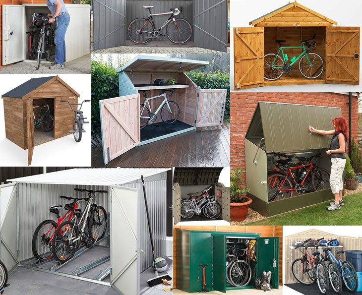Bike Storage Sheds Secure Practical And Weatherproof The Best