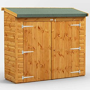 Power 6' x 2' Shed