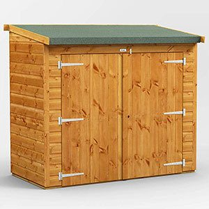 Power 6' x 3' Shed