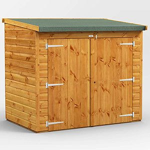 Power 6' x 4' Shed