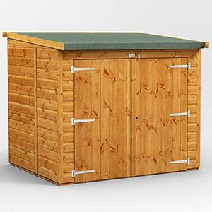 Power 6' x 5' Shed
