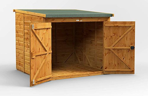 Power 6' x 6' Shed