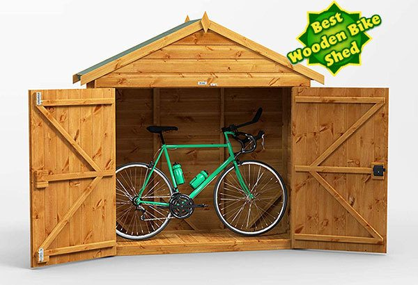 Power Shed: Best Wooden Bike Shed