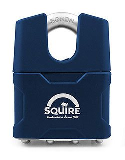 Squire closed shackle padlock