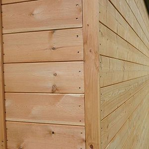 Tongue and Groove Cladding