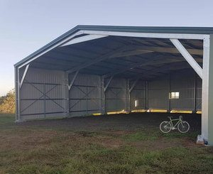 What size bike shed?