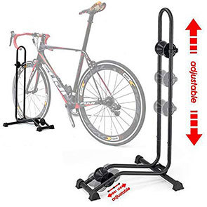 Bikehand Floor Rack in use
