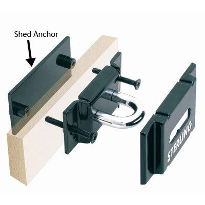 Sterling shed anchor