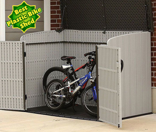 Lifetime  6 x 3.5 Best Plastic Bike Shed