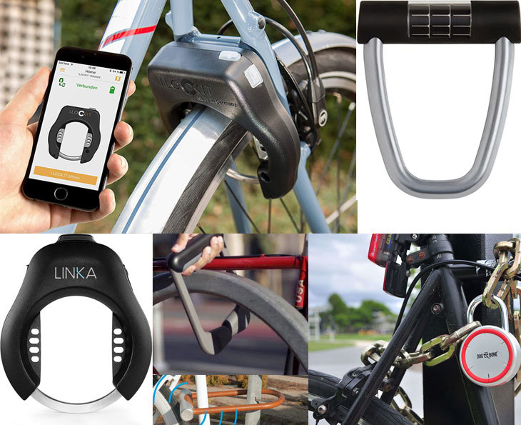 Smart bike locks