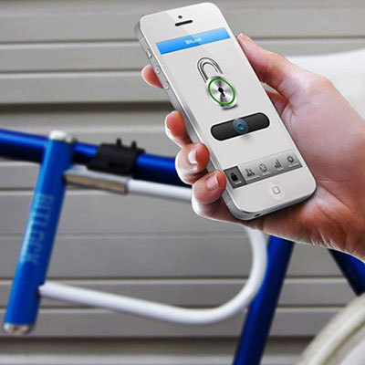 Smart bike locks connect to phone apps