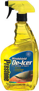 Windshield deicer will get rid of ice
