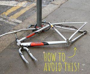 Bike Wheel and Seat Locks