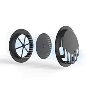 Bike cover ventilation valves