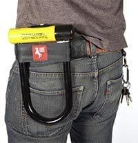 Fabric Horse u-lock holster