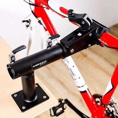 Workbench bike mount