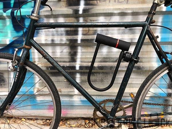 Zefal K-Traz U17 on bike