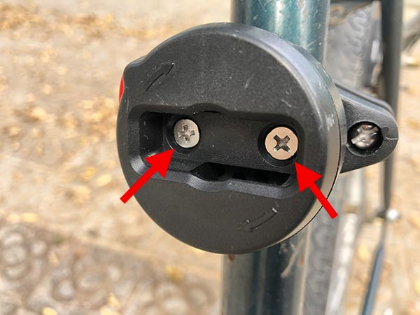 Zefal K-Traz U17 frame adjustment screws