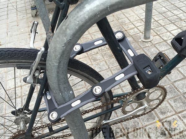 Abus Bordo 6500: strongest folding bike lock