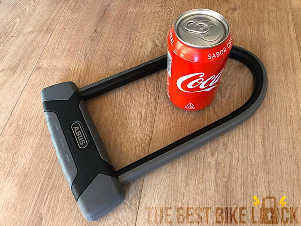 Abus Granit X Plus 540 with can of Coke