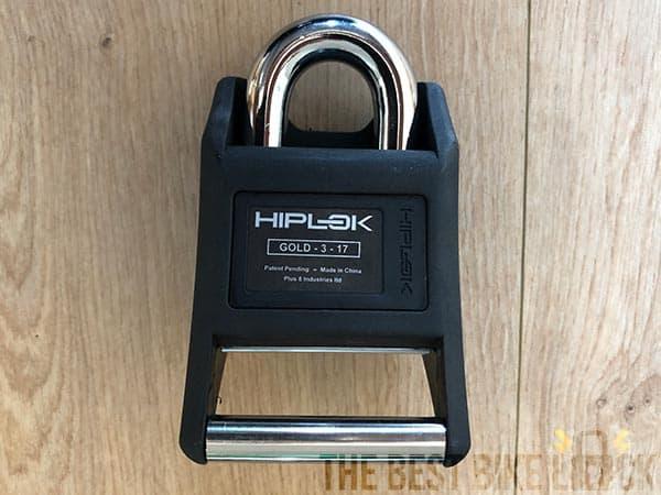 The Hiplok padlock