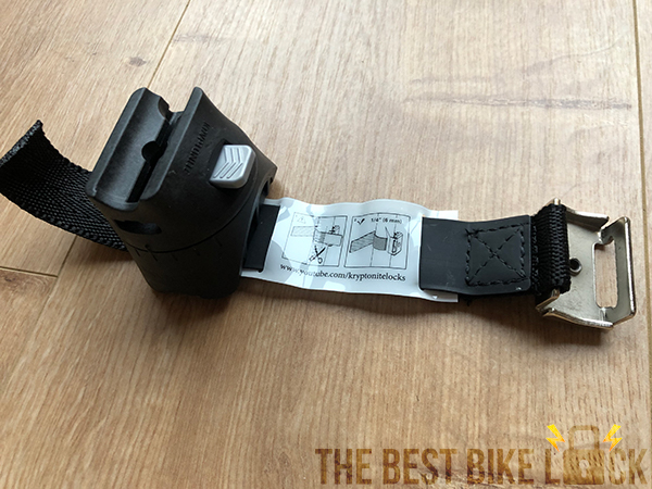 The Kryptonite FlexFrame-U Bracket frame mount