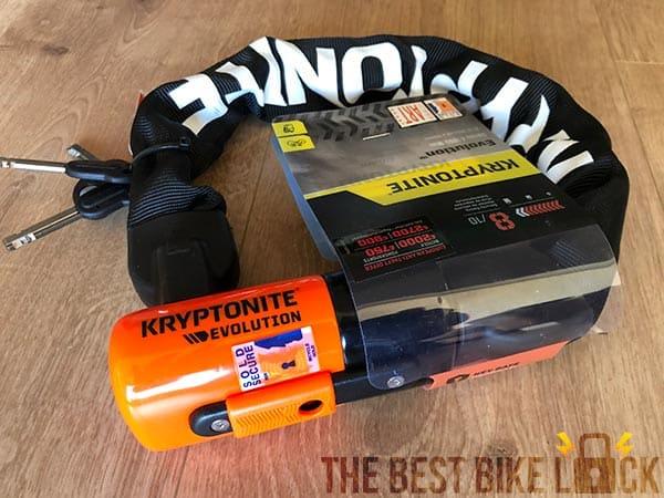 Kryptonite Evolution chain 1055 Mini boxed