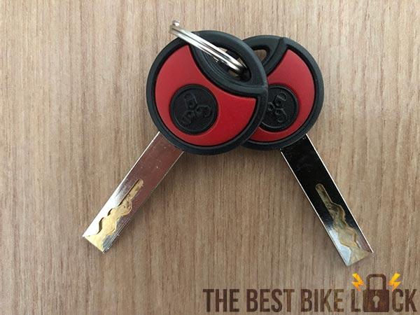 Trelock FS 500 Toro keys