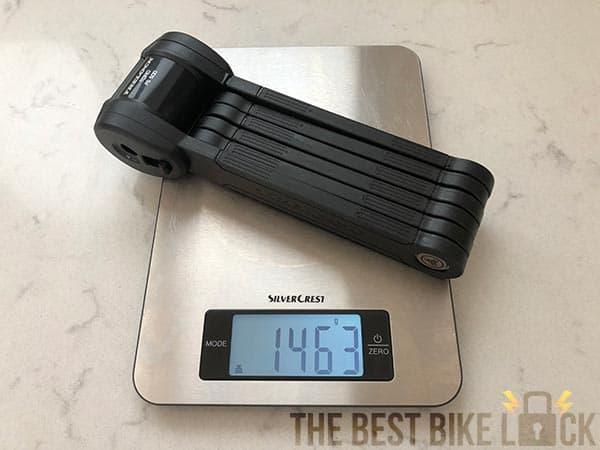 Weighing the Trelock FS 500 Toro