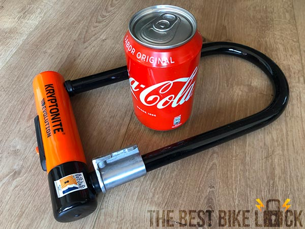 Kryptonite Evolution Standard with can of Coke