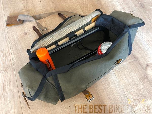 Kryptonite Evolution Standard in my saddlebag