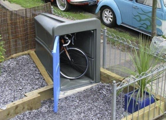 The single bike Lockerpod