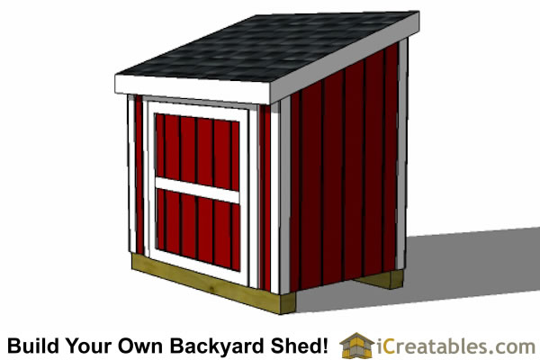 4 x 6 generator shed