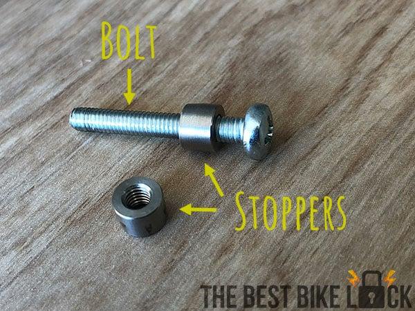A Pitlock Pit-Stopper set