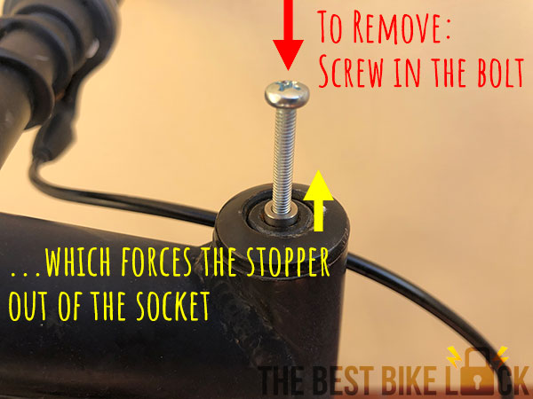 How to remove a Pit-Stopper